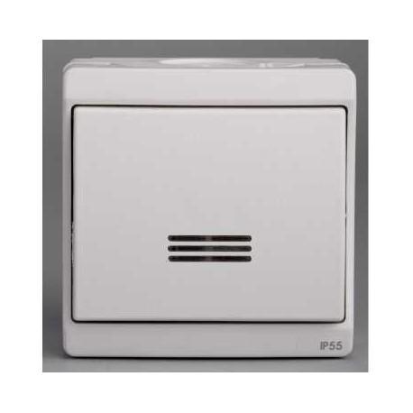 bouton poussoir lumineux blanc schneider mureva enn39028. Black Bedroom Furniture Sets. Home Design Ideas