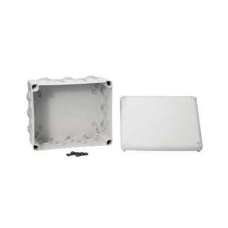 boite d rivation tanche 275x225x120 a embouts 20 entr es. Black Bedroom Furniture Sets. Home Design Ideas