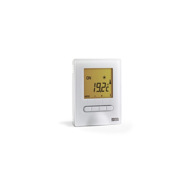 thermostat digital plancher plafond rayonnant elec deltadore minor 12. Black Bedroom Furniture Sets. Home Design Ideas