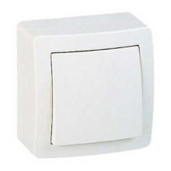 Interrupteur Simple Allumage Saillie Schneider Alréa Blanc Complet