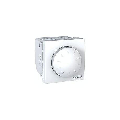 variateur rotatif va et vient 40 400 w 2 modules blanc. Black Bedroom Furniture Sets. Home Design Ideas