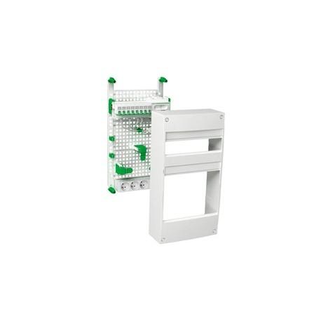 coffret de communication avec emplacement box schneider 8 rj45. Black Bedroom Furniture Sets. Home Design Ideas