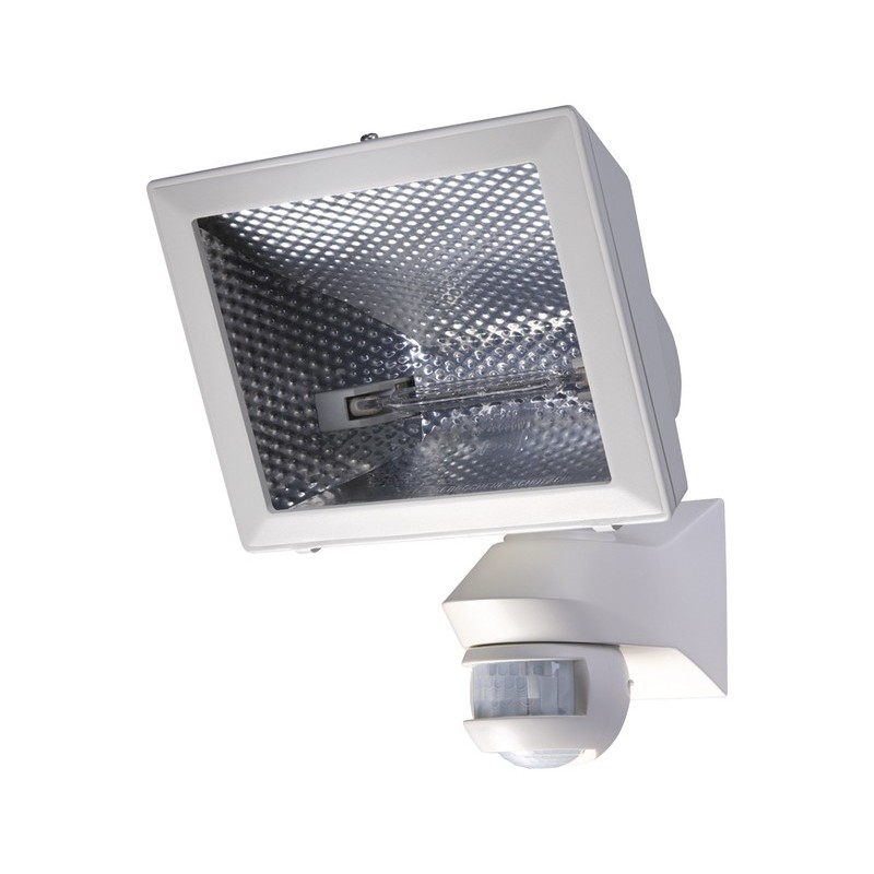 Spot co halog ne de 400 w mural blanc orientable 150 for Halogene exterieur