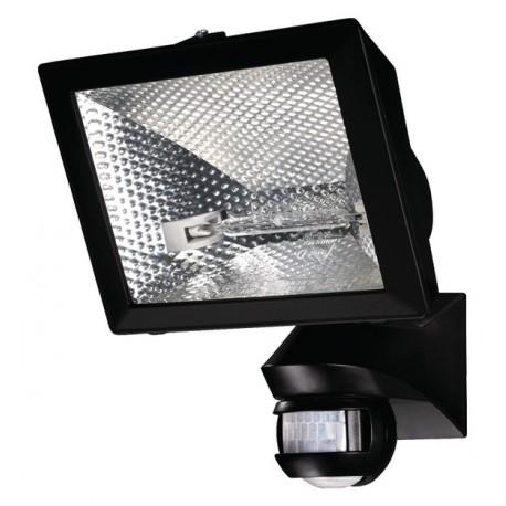 Spot co halog ne 400 w mural noir orientable 150 - Spot exterieur orientable ...