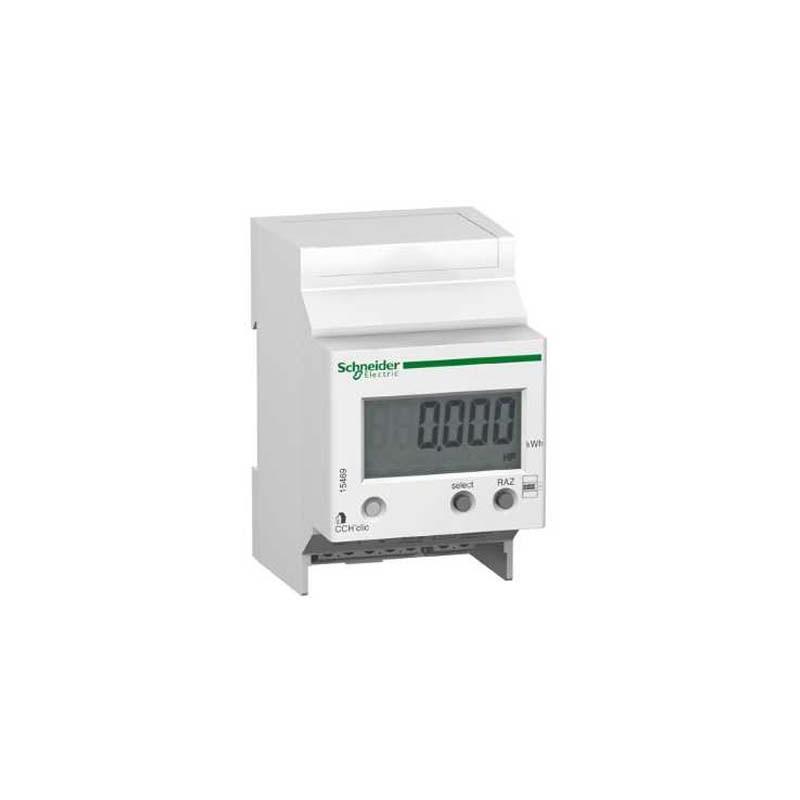 Indicateur de consommation lectrique schneider modulaire - Consommation electrique chauffe eau ...
