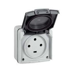 Prise de courant Plexo 3P+T 400V 20A IP55 IK08 Legrand