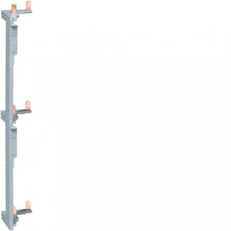 peigne vertical hager pour tableau 3 rang es kcn325. Black Bedroom Furniture Sets. Home Design Ideas