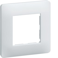 Plaque 1 poste Blanc Hager Essensya