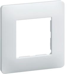 Lot de 50 plaques 1 poste Blanc Hager Essensya