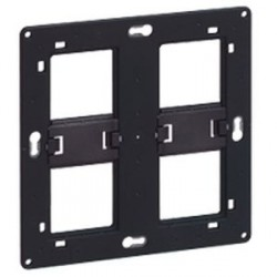 Support grand format Batibox Legrand pour Mosaic - 2 x 2 postes - 2 x 4/5 modules
