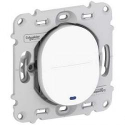 Poussoir Fermeture LED Schneider Ovalis 10A Sans Plaque