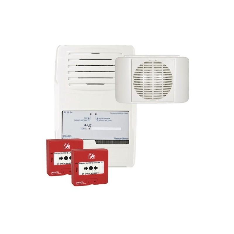 Alarme Incendie - TEST ALARME TYPE RADIO