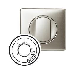 Thermostat fil pilote titane Legrand celiane