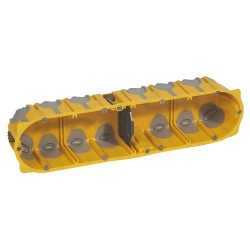 boite multipostes prog ecobatibox 4 postes 8 10 modules prof 50 mm