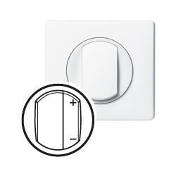 Interrupteur variateur 400w blanc Legrand celiane