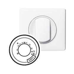 Thermostat fil pilote blanc Legrand celiane
