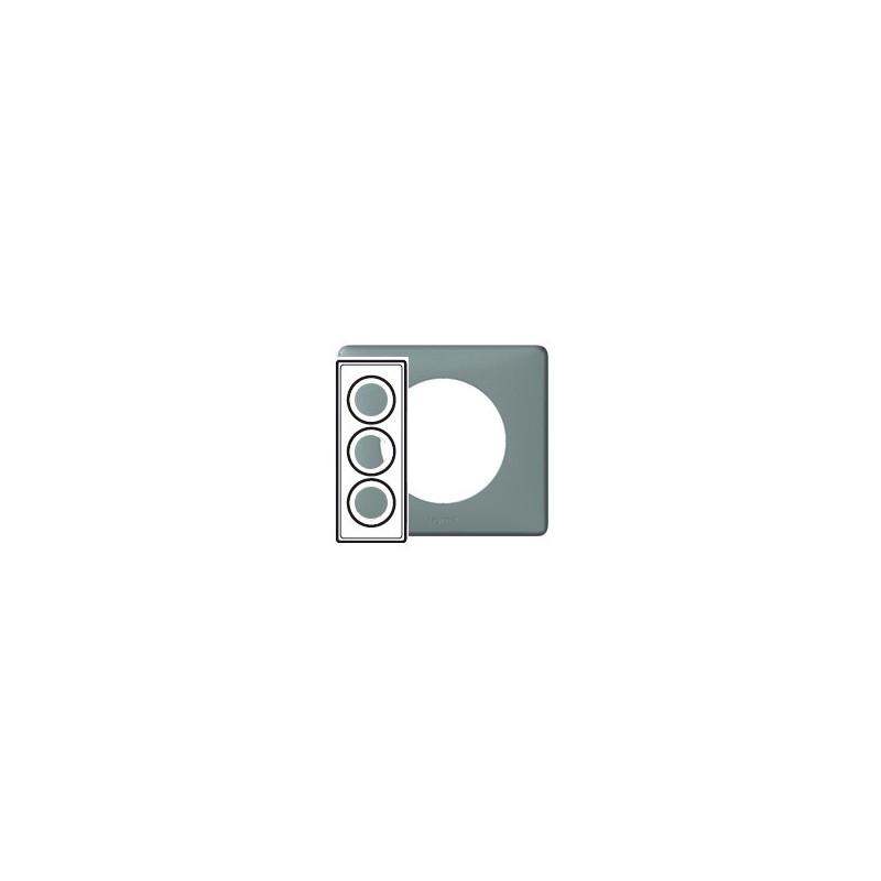 legrand celiane plaque ciment 3 postes entraxe 57mm support. Black Bedroom Furniture Sets. Home Design Ideas