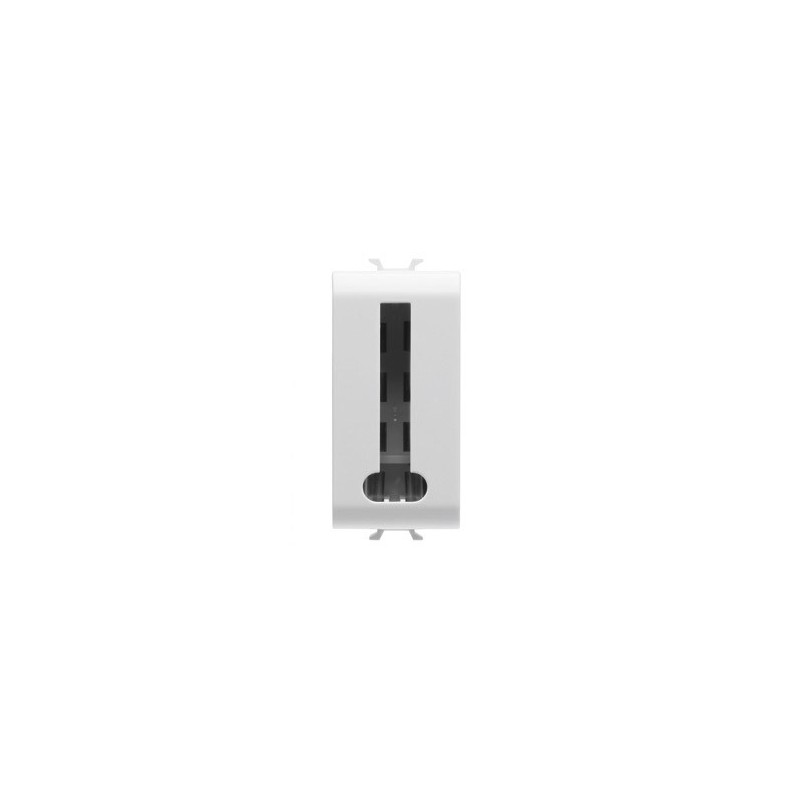 gewiss connecteur telephone std fr 8c 1m blanc gw10405. Black Bedroom Furniture Sets. Home Design Ideas