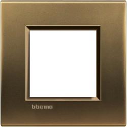 plaque bronze livinglight 2 modules