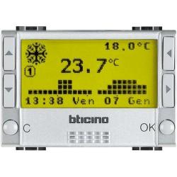 chrono thermostat encastre livinglight tech