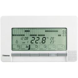chrono thermostat mural livinglight blanc