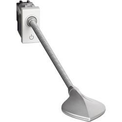 liseuse orientable livinglight 110 lumens blanc 1 module