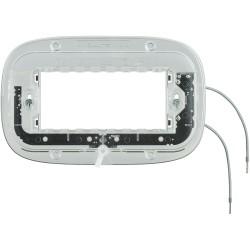 support lumineux elliptique 4 modules a vis