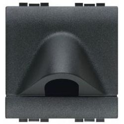 Sortie de câble Livinglight - Anthracite - 2 modules