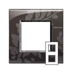 Plaque Livinglight Air Décor 2+2 modules entraxe 71 mm - Ramage