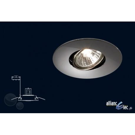 Almeria Spot encastré 1 x 50w GU10 Gris Luminaire Podium Philips