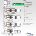 Tableau electrique complet Moeller surface supérieur a 100 m2 (T6 et plus)