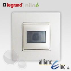 Interrupteur automatique 2 fils complet Legrand Niloe Pur Blanc