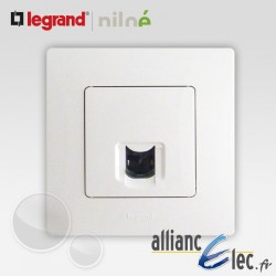 Prise RJ45 catégorie 6 FTP Legrand Niloe Pur Blanc