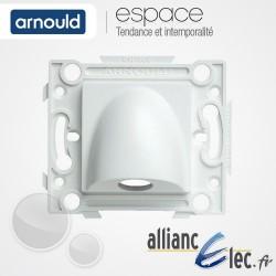Sortie de cable 20A Blanc Arnould Espace Lumière