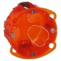 Boite multimatériaux Legrand Batibox 1 poste - Prof. 40mm