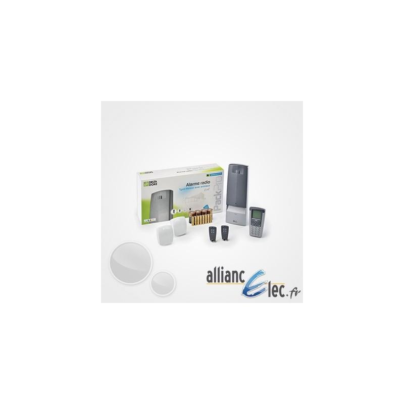 Alarme sans fil deltadore tyxal pour maison ou local professionnel - Alarme tyxal maison animaux ...