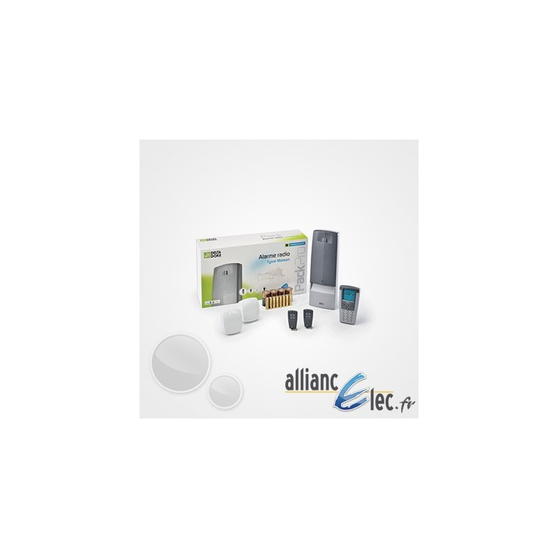alarme radio sans fil deltadore tyxal pour maison ou local. Black Bedroom Furniture Sets. Home Design Ideas