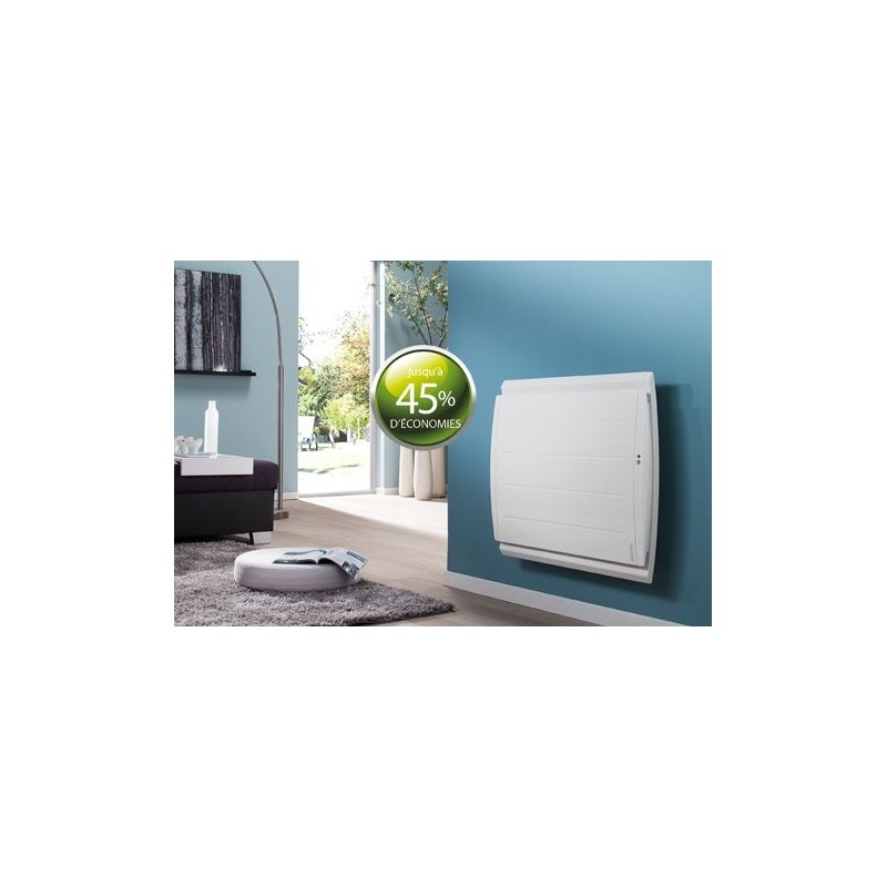 Radiateur atlantic maradja 2000w inertie fonte horizontal blanc for Radiateur atlantic maradja