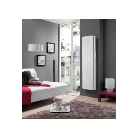 radiateur atlantic maradja 2000w inertie fonte vertical blanc. Black Bedroom Furniture Sets. Home Design Ideas