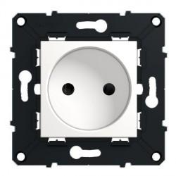 PC 2p sans terre 10/16A a Vis Arnould Espace Evolution Blanc