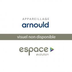 Plaque Nuances Magnesium 3 Postes Arnould Espace Evolution