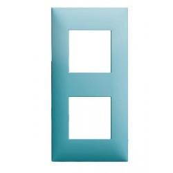 Plaque Decors Turquoise 2 Postes Arnould Espace Evolution