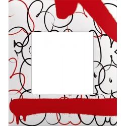 Plaque 1 Poste collection Tizieu Flop Arnould Evolution