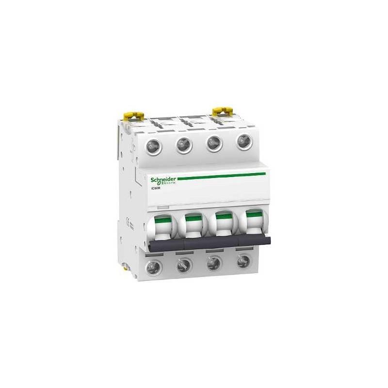 Disjoncteur ic60h 4p 40a courbe c schneider acti 9 a9f87440 - Disjoncteur courbe c ...