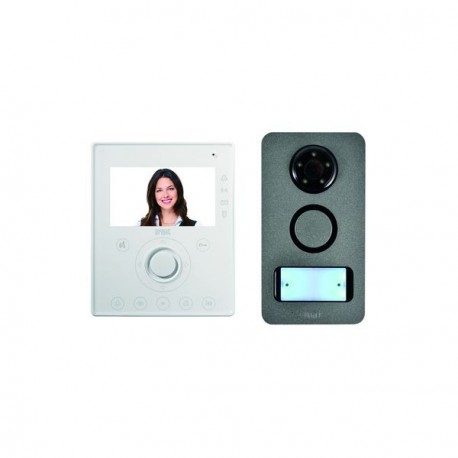 Kit Interphone Vidéo Urmet Mains Libres Note Mini