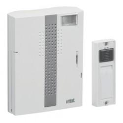 Kit Carillon Radio 250 Mètres Urmet avec Flash sur Secteur ou Pile