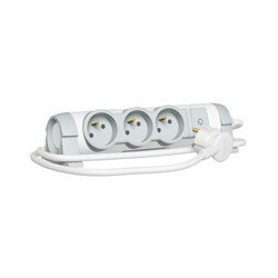 Rallonge Multiprise Legrand Confort Bloc de Prise Rotatif 3X 2P+T Cordon 1,5 Metre 3G1