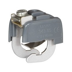 Connecteur de Liaison Équipotentielle Diam. Mini 18 mm domino Diam. Maxi 22 mm Legrand