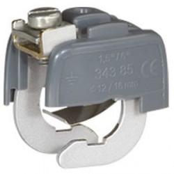 Connecteur de Liaison Équipotentielle Diam. Mini 28 mm domino Diam. Maxi 32 mm Legrand
