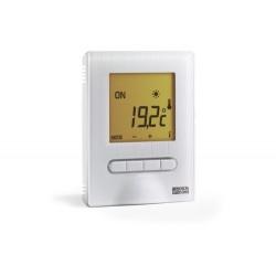Thermostat Digital Semi-Encastré pour Plancher ou Plafond Rayonnant Electrique DeltaDore Minor 12